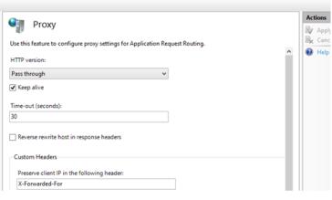 IIS ARR on Windows 8 1 for Lync 2013 | InsideMSTech