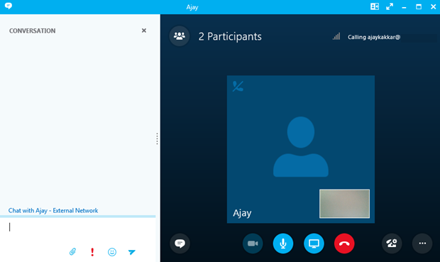 how to change skype for business details in skype outlook