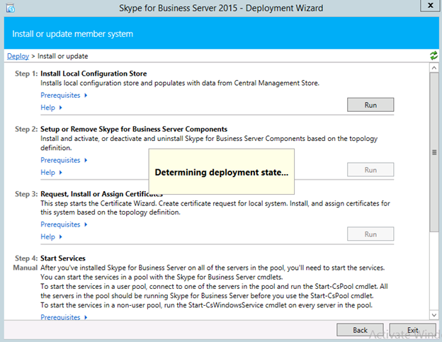 Step by step Skype for Business Server Standard Edition deployment ...
