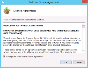 Step by step Skype for Business Server Standard Edition