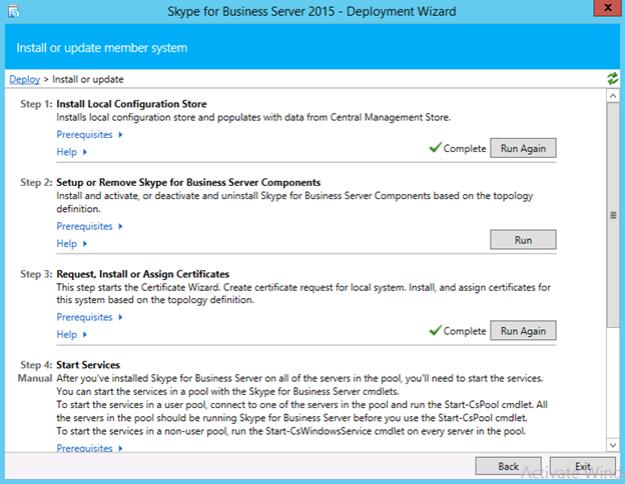 Skype for Business deployment | InsideMSTech