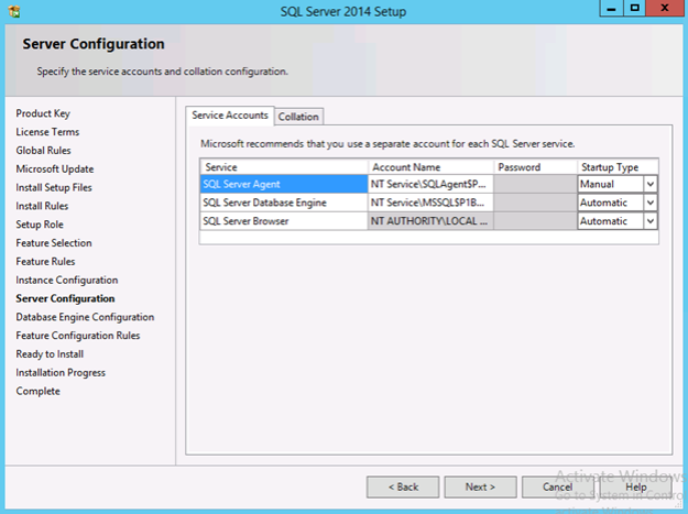Step by step SQL Server Installation for Skype for Business