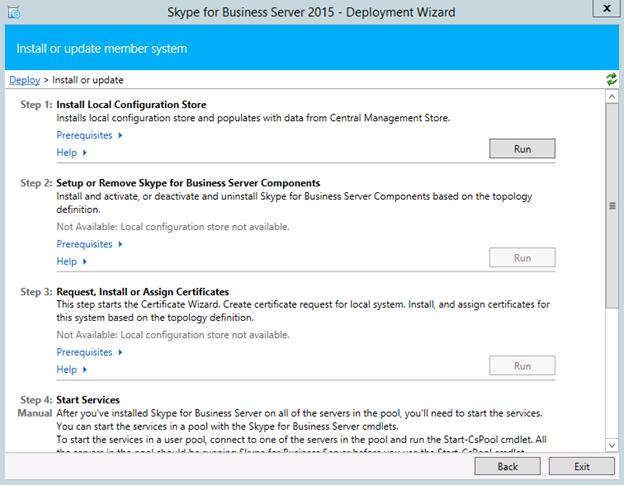 Step by step Mediation Server Pool: Skype for Business Server 2015 ...
