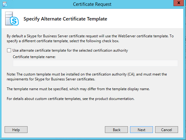 Edge server certificate inside microsoft technology enter friendly name and select mark the certificates private key as exportable yelopaper Gallery