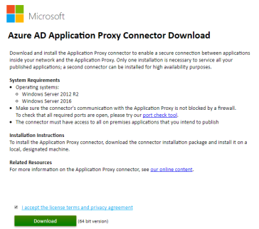 AzureAD : Application Proxy | InsideMSTech