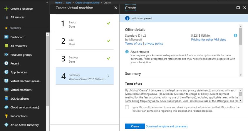 Azure : Virtual Machine Configuration   InsideMSTech