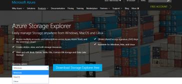 azure storage explorer download